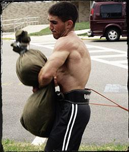 Sandbag Blitz Training