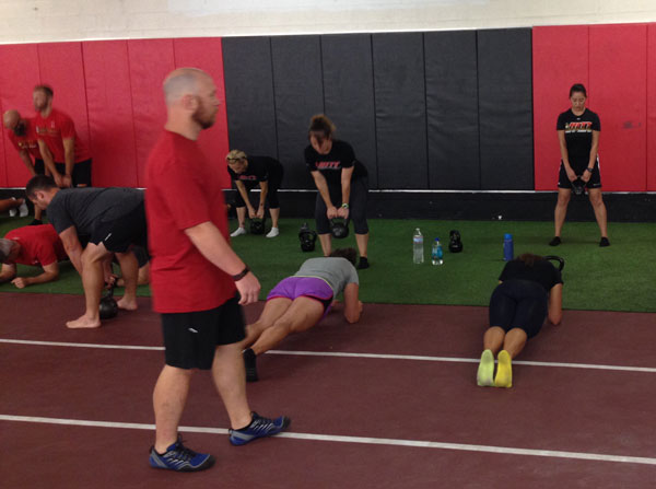 Semper Fit HKC Planks and Deadlifts