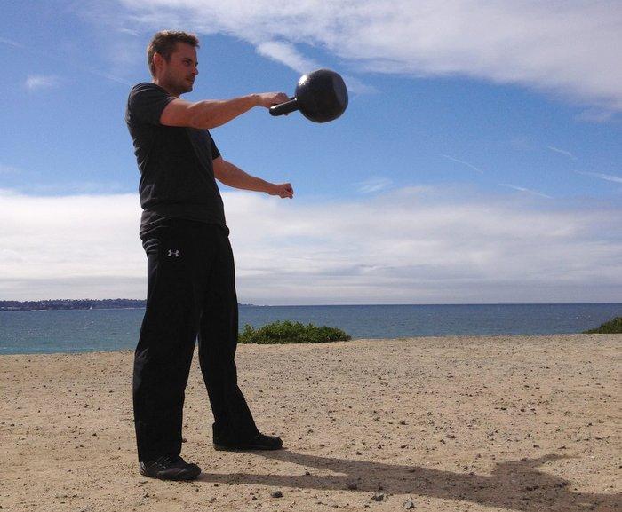 Seth Munsey Kettlebell Swings