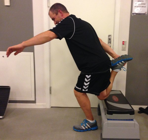 Stefan Madsen Client: 48 year old man after ACL Reconstruction