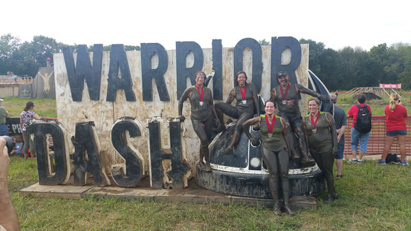 Stephanie Woods After Warrior Dash