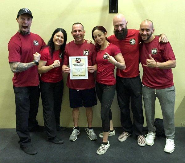 Steve Rosen And PCC instructors