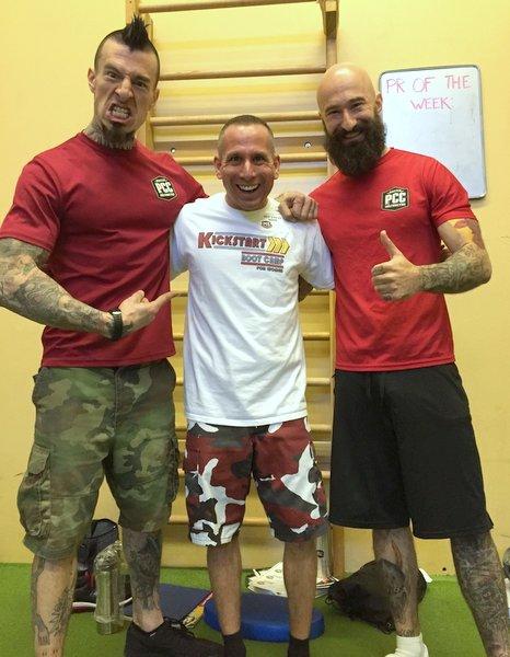 Steve with Danny Kavadlo and Al Kavadlo