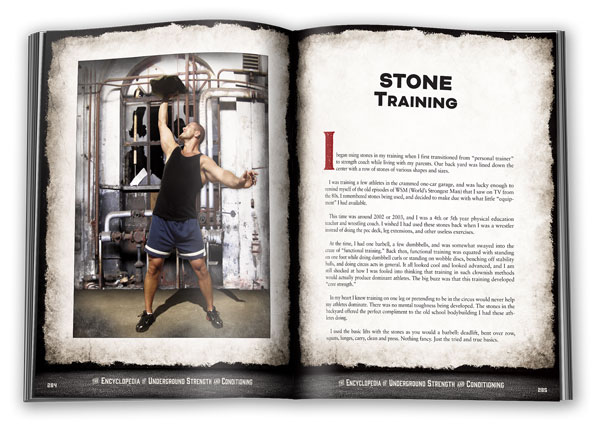 Stone Training with Zach Even-Esh Encyclopedia of Underground Strength and Conditioning
