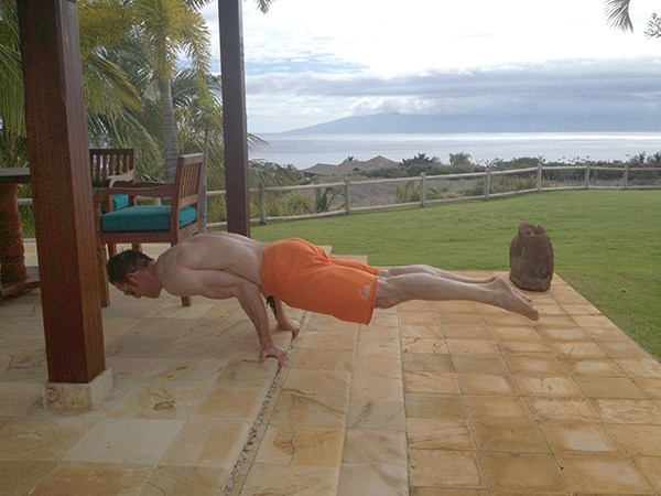 TJ Sawyer outdoor training elbow lever
