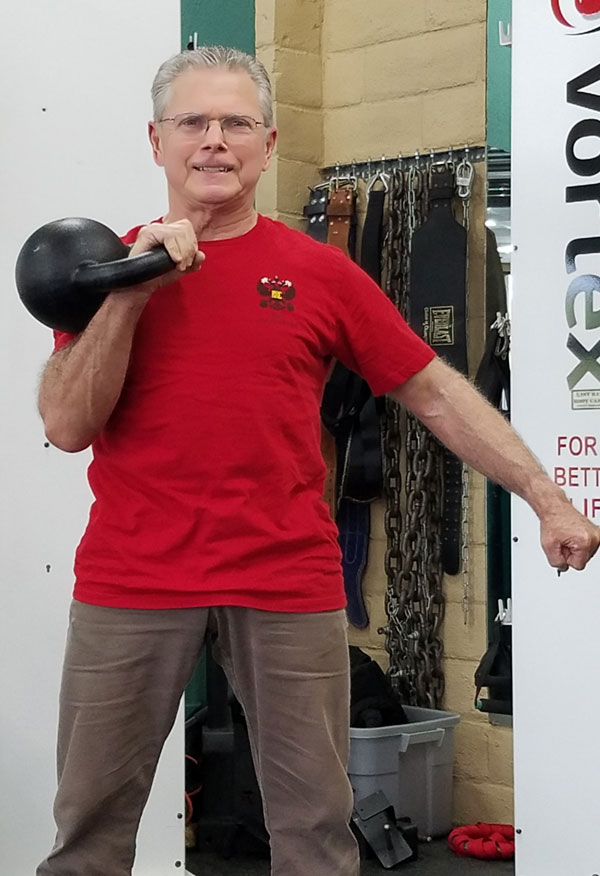 Terry Joel RKC With Kettlebell