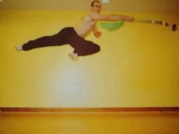 Tim Osborn Jumping Wushu