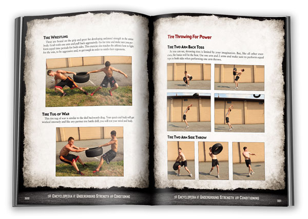 Tire Training with Zach Even-Esh in Encyclopedia of Underground Strength and Conditioning
