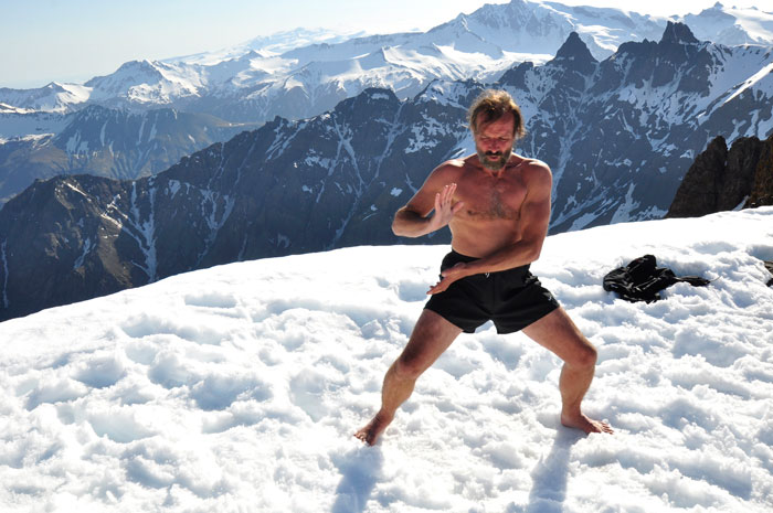 Wim Hof Tai Chi Snow Mountain