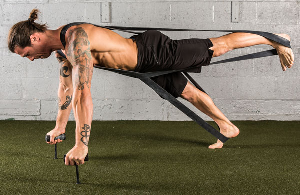 X-Band One Leg Neuro-Grip Push-Up
