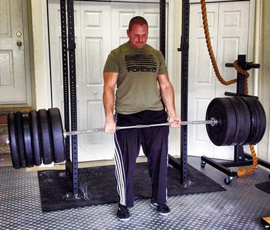 Zach Even-Esh Deadlift Garage Gym