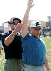 Chiropractor Glenn Hyman practices Kettlebell Strength Training Workouts coached by Pavel Tsatsouline Chief RKC