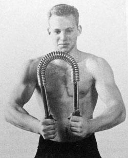 old school grip training