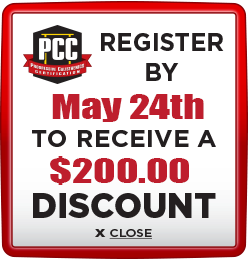 Receive $200 discount when you register by May 24th
