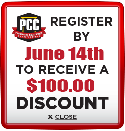 Receive $100 discount when you register by June 14th