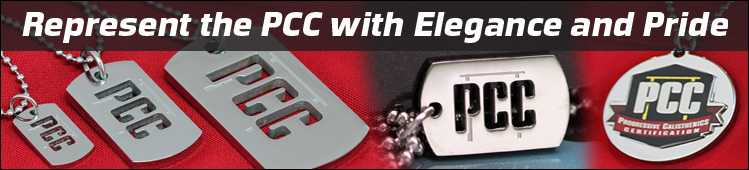 PCC Accessories - Dog Tags and Color Pendant - Represent with Pride and Elegance