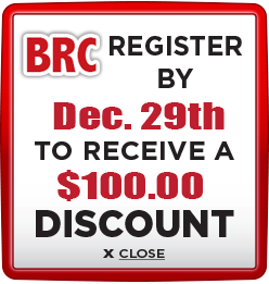 Receive $100 discount when you register by December 29th