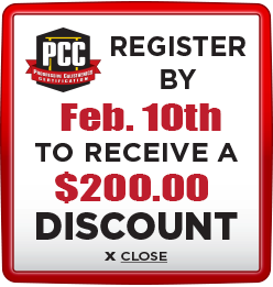 Receive $200 discount when you register by February 10th