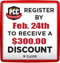 Receive $300 discount when you register by February 24th