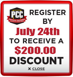 Receive $200 discount when you register by July 24th