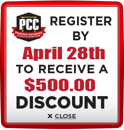 Receive $500 discount when you register by April 28th