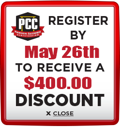 Receive $400 discount when you register by May 26th