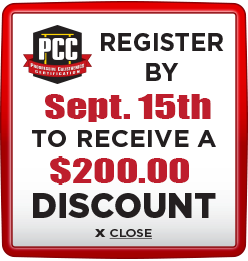 Receive $200 discount when you register by September 15th