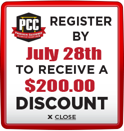 Receive $200 discount when you register by July 28th