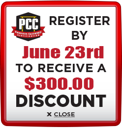 Receive $300 discount when you register by June 23rd