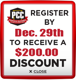 Receive $200 discount when you register by December 29th