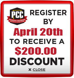 Receive $200 discount when you register by April 20th