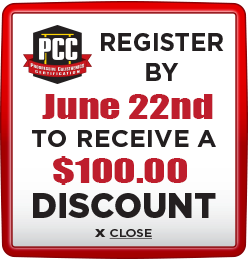 Receive $100 discount when you register by June 22nd
