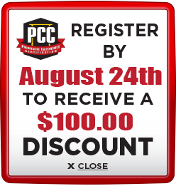 Receive $100 discount when you register by August 24th