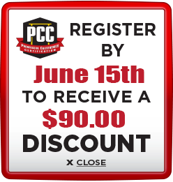 Receive $90 discount when you register by June 15th