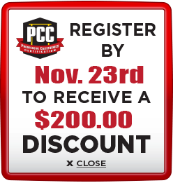 Receive $200 discount when you register by November 23rd