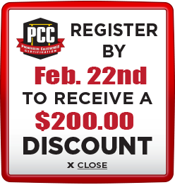Receive $200 discount when you register by February 22nd