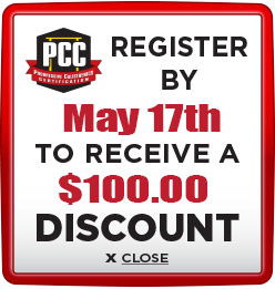Receive $100 discount when you register by May 17th