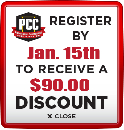 Receive $90 discount when you register by January 15th
