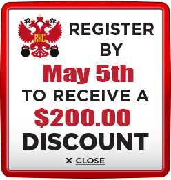 Receive $200 discount when you register by May 5th