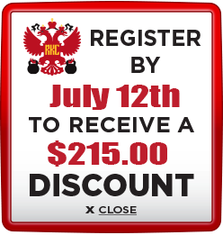 Receive $215 discount when you register by July 12th