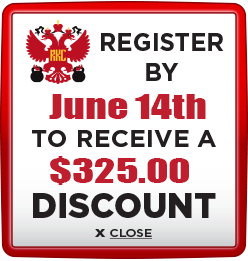 Receive $325 discount when you register by June 14th