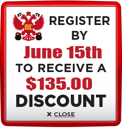 Receive $135 discount when you register by June 15th