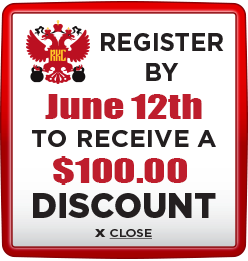 Receive $100 discount when you register by June 12th 2020