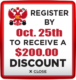 Receive $200 discount when you register by October 25th
