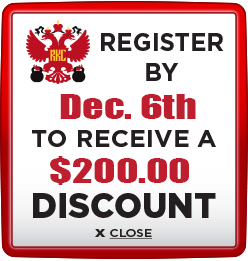 Receive $200 discount when you register by December 6th