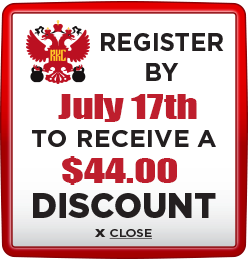 Receive $44 discount when you register by July 19th 2020