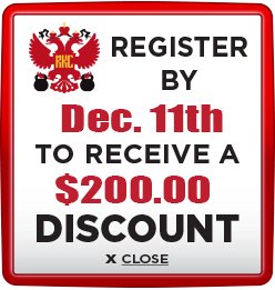 Receive $200 discount when you register by December 11th 2020