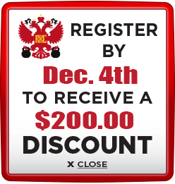 Receive $200 discount when you register by December 4th 2020