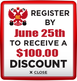 Receive $100 discount when you register by June 25th 2021