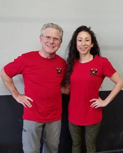 Personal Trainer in Walnut Creek teaches kettlebell workouts